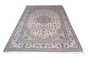 Antique Silk Persian - Nain 6 La