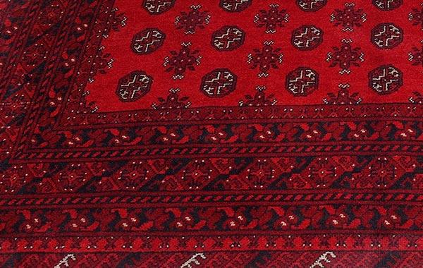 Oriental – Red Afghan 1
