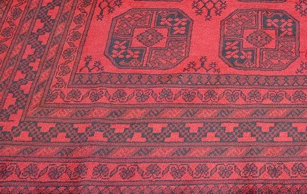Oriental – Red Afghan 2