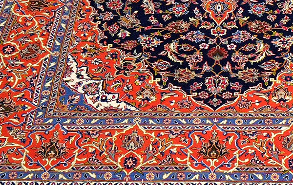 Persian – Kashan Part Silk
